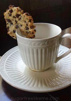 Sugar Free Like Me: Low Carb Chocolate Chip Cookies