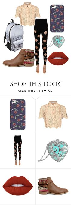 """""""Untitled #26"""" by jacquesilva on Polyvore featuring beauty, Casetify, self-portrait, Balmain, Lime Crime and H&M"""