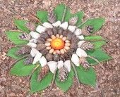 Goldsworthy style Nature Art