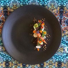 | • Roasted Carrot Salad • | • Mushrooms • Avocado Pearls • Crisp Capers • Finger-Lime • Caramelized Celeriac Puree • | #foodstarz_official #cookniche #chefstalk #expertfoods #chefsroll #wildchefs #thestaffcanteen #gourmetzfood #myroundplate #grateplates #gastroart #gourmetartistry #soignefood #theartofplating #chefsplateform #food #love #instafood