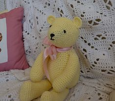 Buttercup bear ~ free pattern