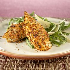 Collect this Sun Dried Tomato and Parmesan Crumbed Chicken Strips recipe by Perfect Italiano. MYFOODBOOK.COM.AU | MAKE FREE COOKBOOKS