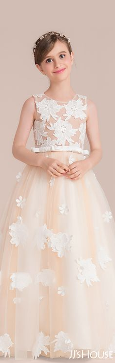 The beauty of the junior bridesmaid dress is beyond words. #JJsHouse #Junior #Bridesmaid