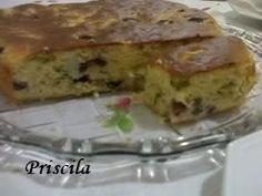 """Delícias da Priscila Beneducci: """"Cake de Azeitonas"""" do """"Chef Álvaro Rodrigues"""""""