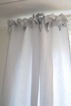 a-cottage-in-the-woods:    source: BUTIK BISKOPSGÅRDEN  ~ love these linen curtains
