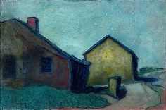 Andy Newman - House and barn (St Erth)