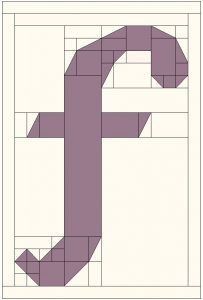 Free Alphabet Pattern: Little f – AQS OnPoint