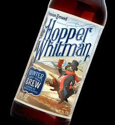 Hopper Whitman Beer - Designed by Stranger & Stranger