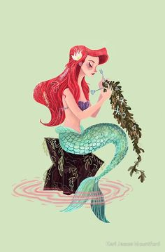Mermaid skills by Karl James Mountford