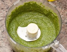 ***Fennel pesto from scratch (added 1 small crushed garlic)