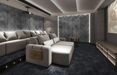 Luxury Cinema Room with cinema seating that is like no other. These cinema seats are recliner seats with electric or manual head rests and feet rests. Pure luxury cinema chairs - Dream Homes - Luxury Homes Home Cinema Seating, Cinema Chairs, Home Cinema Room, Cinema Seats, Theatre Room Seating, Media Room Seating, Theater Seats, Movie Theater Rooms, Home Theater Setup