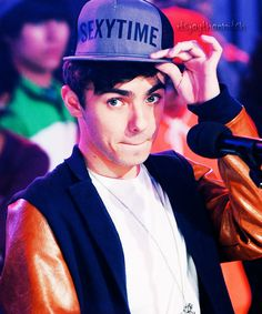 Nathan Sykes- time to put on my sexy hat lol