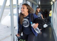 Gallery: U.S. WNT Jets Off to Manaus - U.S. Soccer