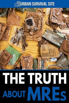 MRE's are often touted as a great meal option for preppers. And while these meals do present some advantages, the truth is they may not be the best option. Kids Survival Skills, Survival Food, Survival Prepping, Survival Kits, Prepackaged Meal, Meal Ready To Eat, Tactical Life, Urban Survival, Disaster Preparedness