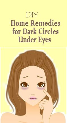 It's best to fight dark circles in whatever way possible! Perhaps it's time to try these do-it-yourself remedies for dark under-eye circles!