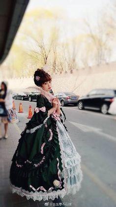 Fall Outfits, Cute Outfits, Fashion Outfits, Womens Fashion, Puffy Dresses, Casual Attire, Lolita Dress, Lolita Fashion, Style Inspiration