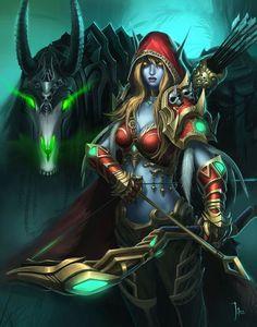 Sylvanas Windrunner #warcraft #heroesofthestorm #legion