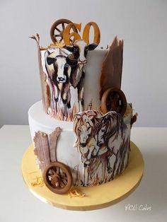 Farm cake by MOLI Cakes