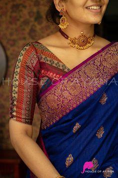 Silk Saree Blouse Designs, Fancy Blouse Designs, Stylish Dress Designs, Kurta Designs, Traditional Blouse Designs, Hand Work Blouse Design, Kurti Embroidery Design, Saree Trends, Photography Poses