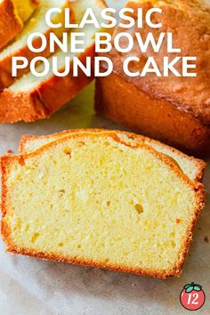 Do you know why a pound cake is called a pound cake? It's because it contains a pound of butter, a pound of eggs, a pound of sugar, and a pound of flour. Throughout the years, people have tried to add in things like baking powder, or cream cheese, or lessen the sugar… but I say, don't mess with success. This pound cake is exactly as it was intended to be – a pound of each ingredient that turns out a deliciously sweet, moist, buttery cake. 12 Tomatoes Recipes, Sponge Cake, Salted Butter, Pound Cake, Let Them Eat Cake, Cornbread, Food To Make, Powder, Eggs