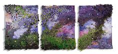 Amy Eisenfeld Genser Reef-6 This artist works with acrylic and paper - but what a wonderful idea for polymer clay!
