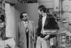 Actors David Jason and Nicholas Lyndhurst in a scene from the Christmas special episode 'Dates' of the television sitcom 'Only Fools and Horses'. David Jason, Only Fools And Horses, Comedy Tv, The Fool, Scene, Actors, Dates, Drama, Sketch