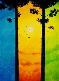 É só comigo, ou essas cores também te lembrem as cores do Brasil? mucho lindo!!! XD