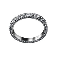 Ring Z-464 / White Gold 750 / Diamonds - TAURUS Jewels