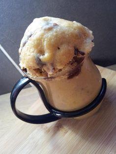 Recette de Mug cookies (cuison au micro onde dans une tasse )