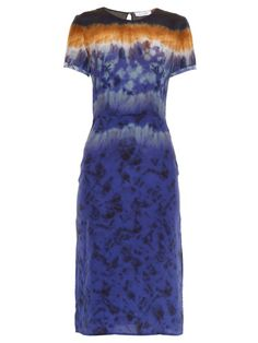 Altuzarra Glaze tie-dye silk dress