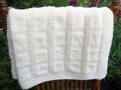 A personal favorite from my Etsy shop https://www.etsy.com/listing/252864595/antique-white-baby-blanket-afghan