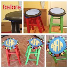 59 Best Painted Wooden Chairs Images In 2017 Paint