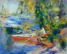 Pierre-Auguste Renoir - Renoir / On the bank o.a river / 1878/80