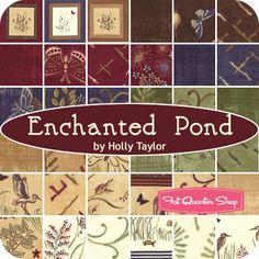 Enchanted Pond Yardage Holly Taylor for Moda Fabrics