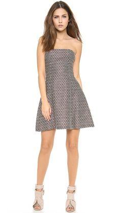 Jill Stuart Estela Strapless Dress#dxc2014