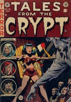Ec Comics, Horror Comics, Horror Films, Vintage Movies, Vintage Posters, Minimal Movie Posters, Film Posters, Albin Michel, Tales From The Crypt