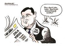 Jimmy Margulies - Politicalcartoons.com - Ted Cruz 2/8/16