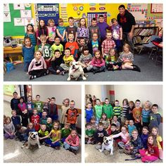 More book readings with three different classes at Southwood Elementary School (Wabash County)... I just love kids