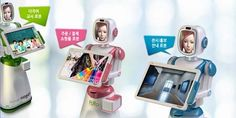 The company Future Robot unveiled a new service robot that functions as a friendly kiosk. The FURO-K moves around greeting customers with a synthesized voice to explain its features, rather than sit future robotsin a corner like some of its less-mobile counterparts, and its anime-inspired face even looks sad when the customers leave.