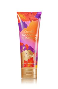 Sweet Cinnamon Pumpkin Triple Moisture Body Cream - Signature Collection - Bath & Body Works
