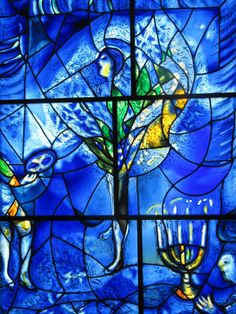 from Chagall's America Windows, Art Institute of Chicago