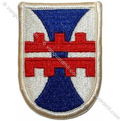 Army Patch: 412th Engineer Brigade - color