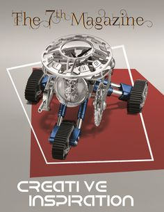 Read about the Grant - Robot Clock by MB&F x M.A.D Gallery from Dubai on Luxury Chapters -