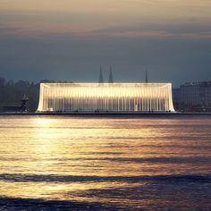 Guggenheim Helsinki, one of the six finalists http://designguggenheimhelsinki.org/finalists/GH-121371443-