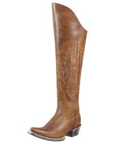 knee high cowgirl boots .... ahhhhhh <3