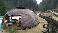 altana ogrodowa - pokryć dach roślinnością
