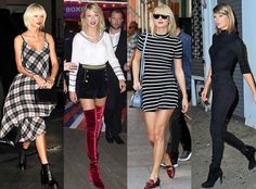 She'll never go out of style, but it is fascinating to see how her fashions have changed