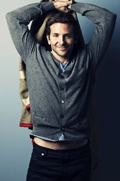 Bradley Cooper - ohhhhhh yeahhh..... He is such a beautiful man!!!