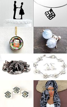 Monday Morning Finds ♥ B n W by Gabbie on Etsy
