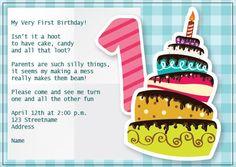 BFY_019 Invite, Invitations, Baby First Birthday, First Birthdays, Monkey, Candy, How To Make, Fun, One Year Birthday